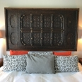 Headboard detail room Pan