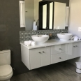 double vanity and loo Pan